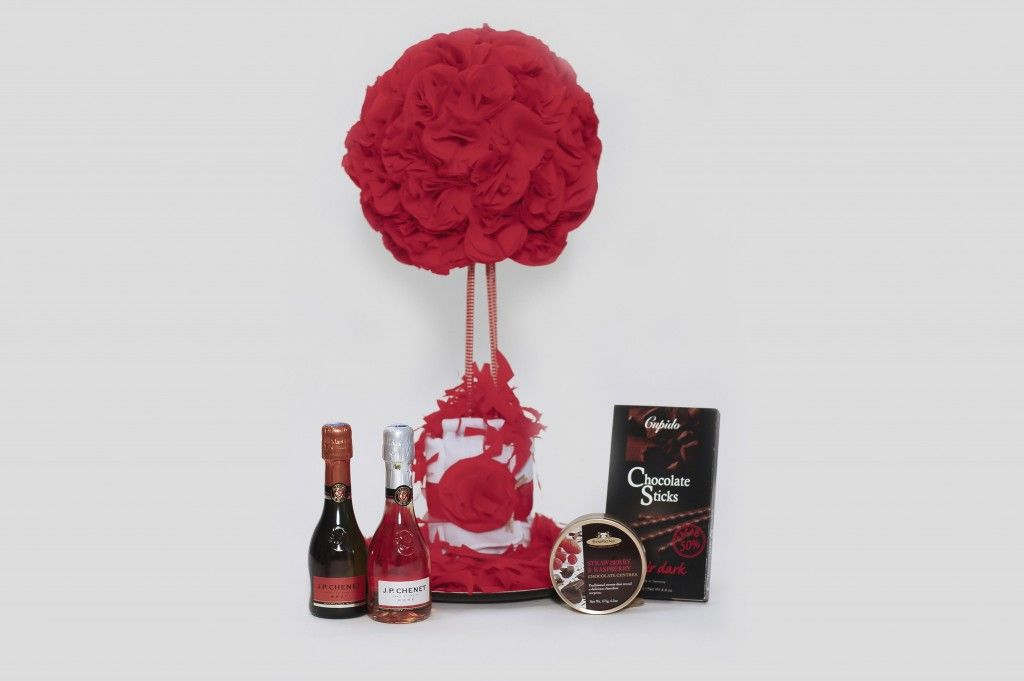 Pack Flores Rojas Chenet