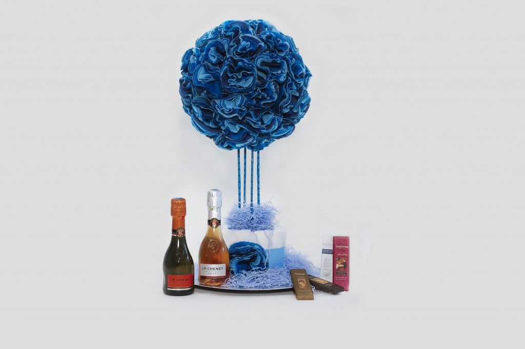 Pack Flores Azules Chenet